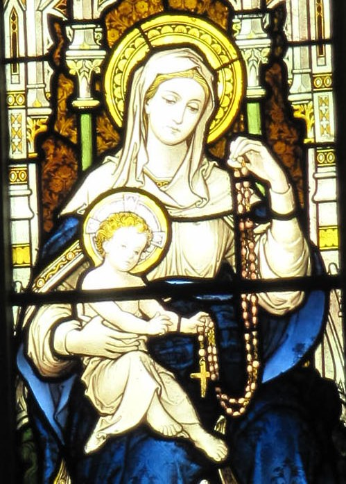 our lady of the rosary1