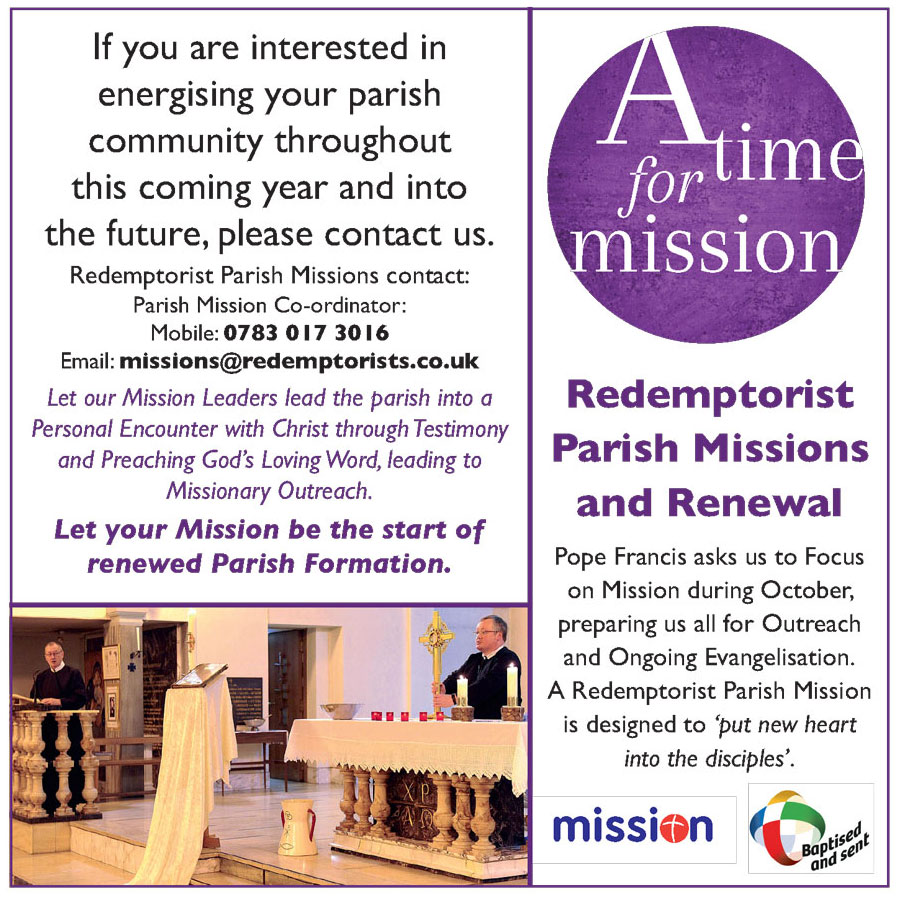 Mission Advert