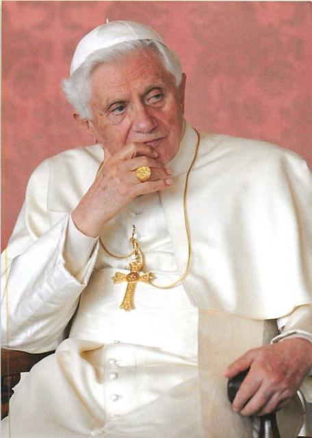 """Pope """"Emeritus"""" Benedict XVI..."""