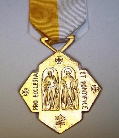 Znalezione obrazy dla zapytania pro ecclesia et pontifice