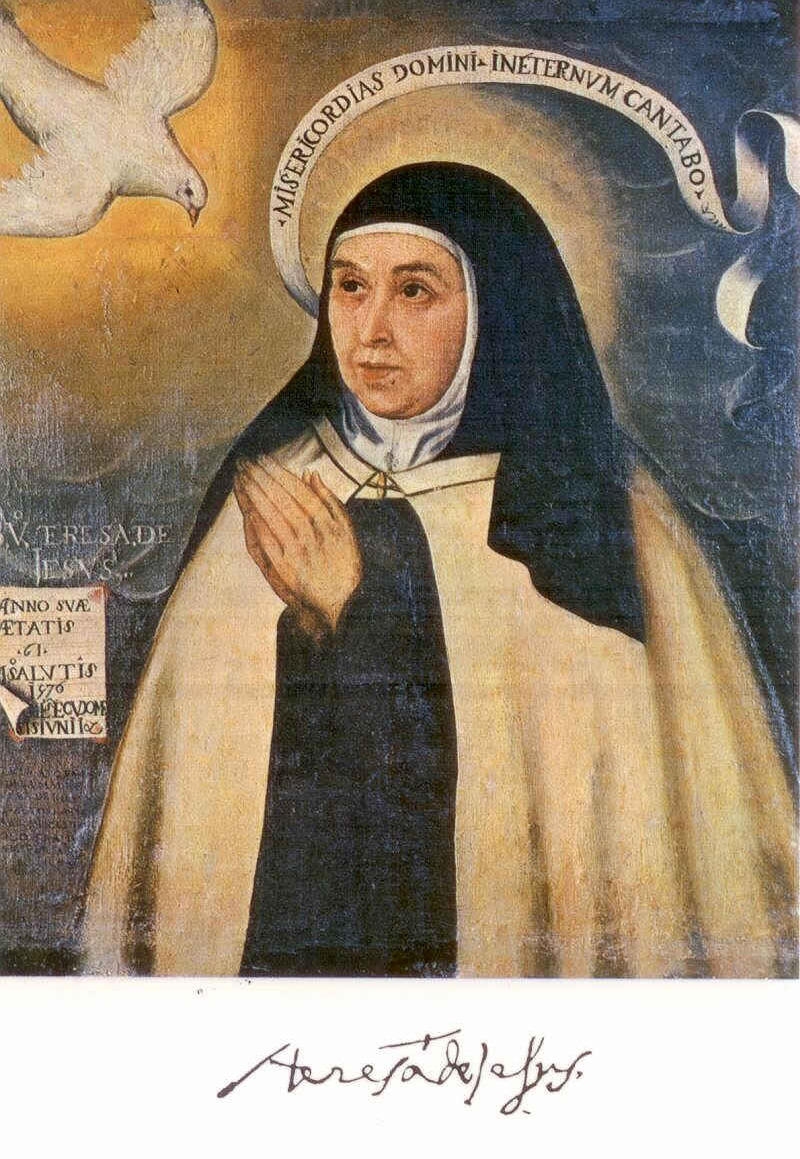 a biography of saint teresa of avila St teresa of avila was a charming, droll and tough-minded reformer  had  become quite lax in their prayer life and had servants attending.