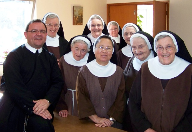 Fr Richard and the Poor Clares