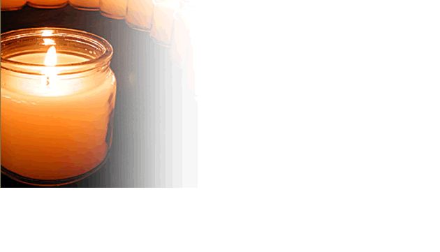 candle banner